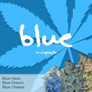 Blue Mix Pack Marijuana Seeds
