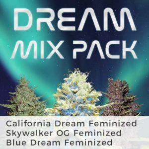 Dreamy Mix Pack Marijuana Seeds
