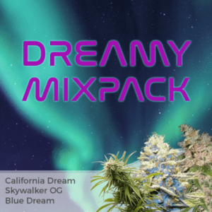 Dreamy Mix Pack Marijuana Seeds