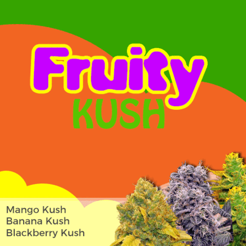 Fruity Kush Mix Pack Marijuana Seeds