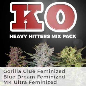 Heavy Hitters Mix Pack Marijuana Seeds
