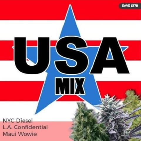 USA Pride Mix Pack Marijuana Seeds