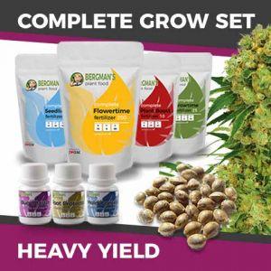 Complete Marijuana Seeds Grow Set For Heavy Yields