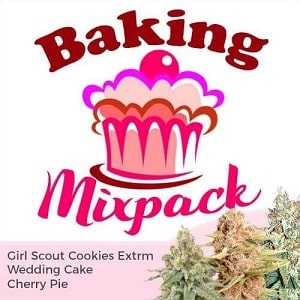 Baking Seeds Feminized Mix